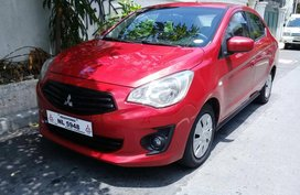Red 2016 Mitsubishi Mirage G4 Sedan for sale in San Juan