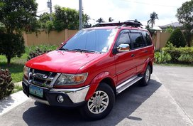 Red 2010 Isuzu Sportivo Manual Diesel for sale