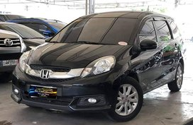 Black 2015 Honda Mobilio for sale in Makati