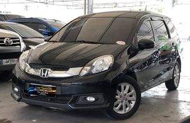Black 2015 Honda Mobilio for sale in Makati