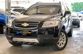 Black 2010 Chevrolet Captiva Automatic Diesel for sale
