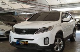 White 2013 Kia Sorento at 45000 km for sale in Makati