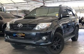 Sell Black 2014 Toyota Fortuner Automatic Diesel in Makati