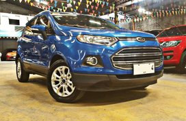 Sell Blue 2015 Ford Ecosport at 40000 km in Quezon City