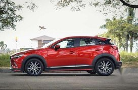 Maroon Mazda Cx-3 2018 at 20000 km for sale
