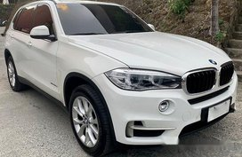 White Bmw X5 2015 for sale Automatic
