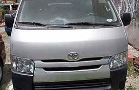 Selling Silver Toyota Hiace 2016 Manual Diesel at 12000 km