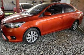 Sell Orange 2015 Toyota Vios at 20000 km in Quezon City