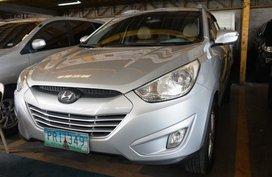 Silver Hyundai Tucson 2010 Automatic Diesel for sale in Manila
