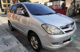 Selling Silver Toyota Innova 2007 Automatic Gasoline at 120000 km in Manila