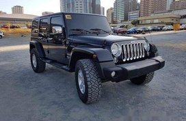 Selling Black Jeep Wrangler 2016 at 22000 km in Pasig