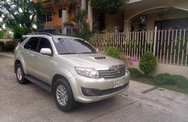 2nd Hand Toyota Fortuner 2014 for sale in Santa Rosa