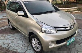 Sell Beige 2012 Toyota Avanza Manual Gasoline at 10000 km in Talisay