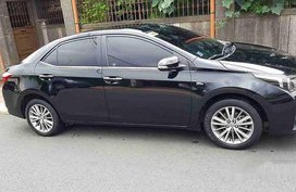 Black Toyota Corolla Altis 2015 Automatic Gasoline for sale in Manila