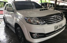 Sell White 2016 Toyota Fortuner in Quezon City