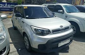 Sell Silver 2017 Kia Soul at 43426 km in Manila