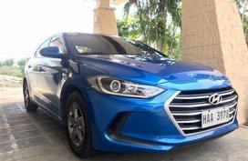 Hyundai Elantra 2017 Manual Gasoline for sale in Cebu City