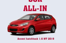 Brand New Hyundai Accent 2019 Hatchback for sale in Quezon City
