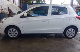 Selling 2015 Mitsubishi Mirage Hatchback for sale in Quezon City