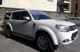 Selling White Ford Everest 2013 at 19351 km in Manila
