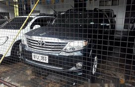 Black Toyota Fortuner 2012 for sale Automatic