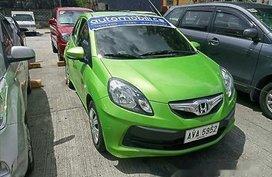 Selling Green Honda Brio 2015 Gasoline Automatic
