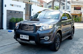 Gray 2015 Toyota Fortuner Diesel for sale