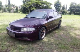 Selling Mitsubishi Lancer 2001 Manual Gasoline in Talisay