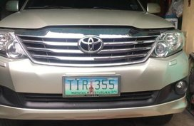 Selling Toyota Fortuner 2012 Automatic Gasoline in Makati