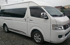 Sell Used 2018 Foton View Traveller Manual Diesel at 20000 km in Cainta