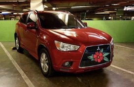 Red Mitsubishi Asx 2012 at 60000 km for sale