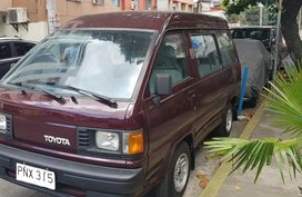 Red Toyota Lite Ace 1989 for sale in Makati