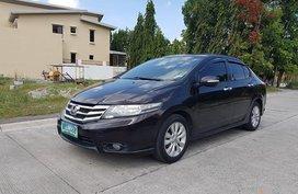 Selling Black Honda City 2012 Sedan in Manila