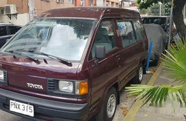 Selling Toyota Lite Ace 1989 Manual Gasoline