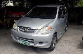 Selling Silver Toyota Avanza 2007 Manual Gasoline in Quezon City