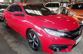 Red Honda Civic 2016 for sale Automatic