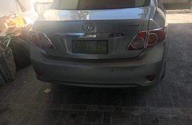 Selling Toyota Altis 2009 at 119000 km in Metro Manila
