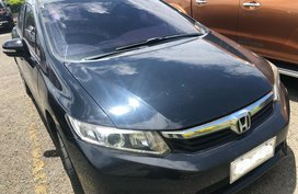 Selling Black Honda Civic 2013 in Cabuyao