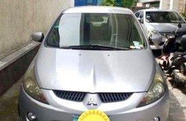 Selling Silver Mitsubishi Grandis 2008 Automatic Gasoline at 140000 km