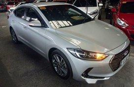 Silver Hyundai Elantra 2016 Automatic Gasoline for sale in Quezon City