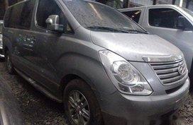 Sell Silver 2015 Hyundai Grand Starex at 101000 km in Makati