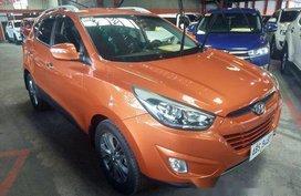 Orange Hyundai Tucson 2015 for sale in Quezon City
