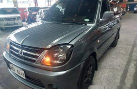 Grey Mitsubishi Adventure 2016 Manual Diesel for sale in Quezon City