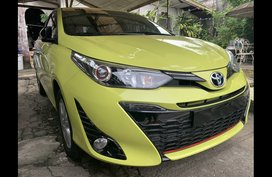 Sell 2018 Toyota Yaris Hatchback in Quezon City