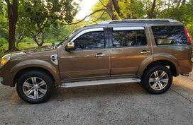 Selling 2nd Hand Ford Everest 2010 in Las Piñas