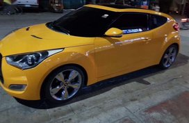 Selling Hyundai Veloster 2014 at 17000 km in Manila
