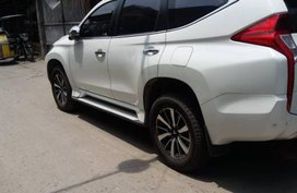 2nd Hand Mitsubishi Montero Sport 2017 Manual Diesel for sale in Calumpit