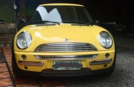 Selling Mini Cooper 2002 Automatic Gasoline in Lipa
