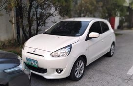 Sell 2nd Hand 2013 Mitsubishi Mirage Hatchback Automatic Gasoline at 30000 km in Caloocan