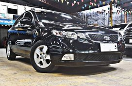 Sell Black 2013 Kia Forte Sedan in Quezon City